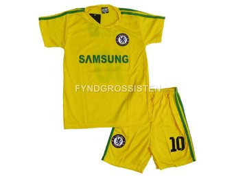 Set Hazard 10 Chelsea 2016 Tröja Shorts Barn 8-9 år Fri Frak