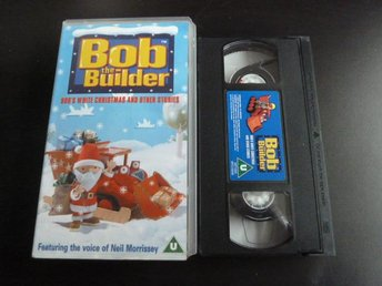BOB THE BUILDER, BOB S WHITE CHRISTMAS AND OTHER STORIES, VHS, FILM - Anderstorp - BOB THE BUILDER, BOB S WHITE CHRISTMAS AND OTHER STORIES, VHS, FILM - Anderstorp