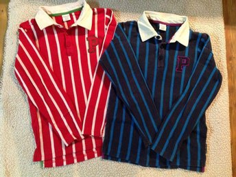 Pop tröja, fin rödrandig, 122/128 - Gustafs - Pop tröja, fin rödrandig, 122/128 - Gustafs