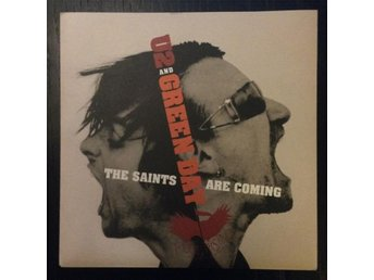 "U2 / Green Day - The Saints Are Coming 7"" Singel limited edition numbered"