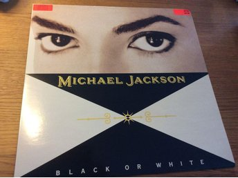 "Michael Jackson - Black or white/Bad/Thriller - 12"" - 1991"