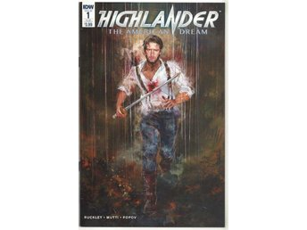 Highlander: The American Dream # 1 SUB Cover NM Ny Import