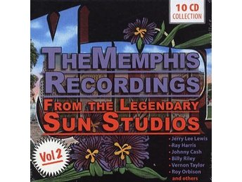 Memphis recordings from legendary Sun Studios 2 (10 CD)
