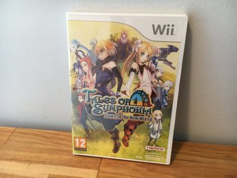 Tales of Symphonia Dawn of the new world Nintendo Wii PAL NYTT