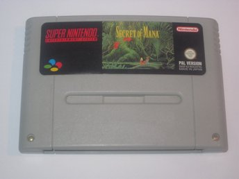 Secret of Mana till Super Nintendo SNES