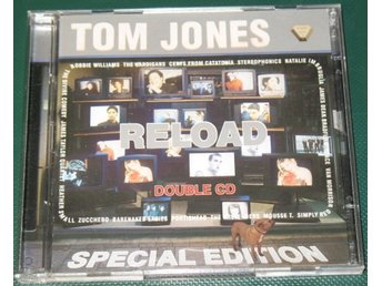 Tom Jones – Reload -- 2 CD -- 2000 -- Special Edition -- Gut Records