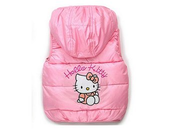 NY Hello Kitty Rosa Väst stl 110