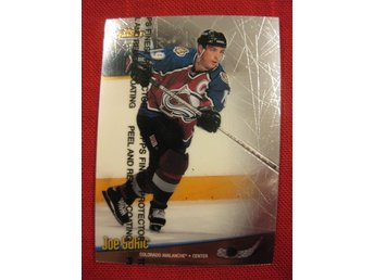 JOE SAKIC COLORADO AVALANCHE - TOPPS FINEST 1998-1999 - 98-99