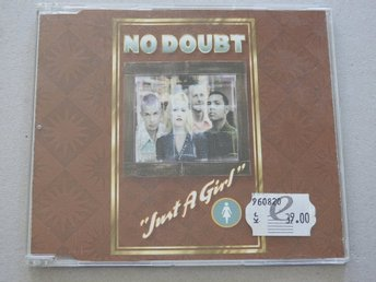 No Doubt Just a Girl CD Singel  / 2 Different People / Open The Gate 1996