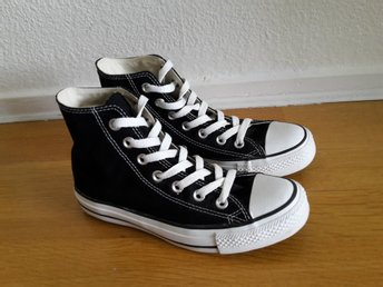 Svarta Converse ALL STAR HI strl 36,5 (US 4)