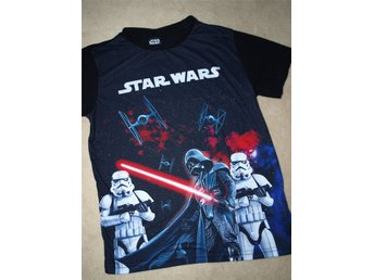 Star Wars Tröja Tshirt 134/140 Kappahl höst mode fashion Fynd Rea Retro Vintage