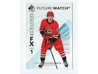 17-18 SP Authentic Spectrum FX Future Watch Bounty Janne Kuokkanen