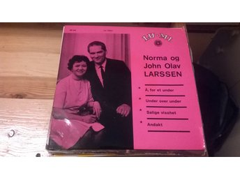 Norma Og John Olav Larssen - Å, For Et Under, EP