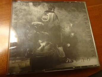 The Who Quadrophenia 2CD Remaster 1996 Mycket fint skick w 52 page booklet