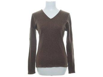 Cashmere Products, Pullover, Strl: 49, Brun, Kashmir