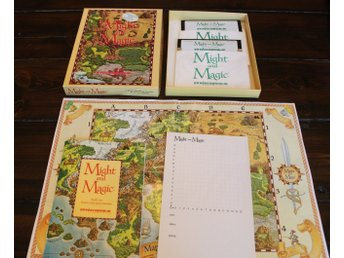 C64 - Might & Magic: Book One (Disk) (Beg)