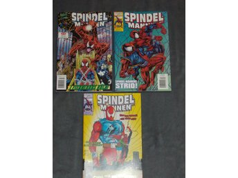 SPINDELMANNEN # 2-3 & 5 - 1997  -MARVEL-