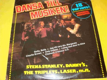 TRIPLETS THE DANNY´S LASER mm LP 1977