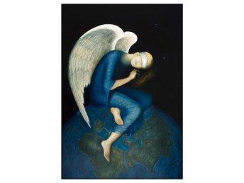 12 Änglakort av Nanne Nyander, Vykort/kort/bilder med änglar, - Sävsjö - 12 Änglakort av Nanne Nyander, Vykort/kort/bilder med änglar, - Sävsjö