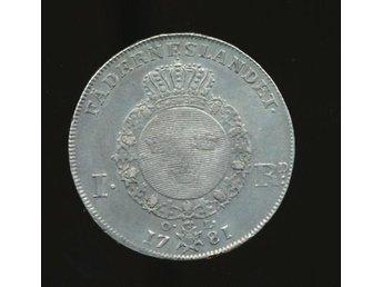 1781 1 Riksdaler Gustav III se bild - Västra Frölunda - 1781 1 Riksdaler Gustav III se bild - Västra Frölunda