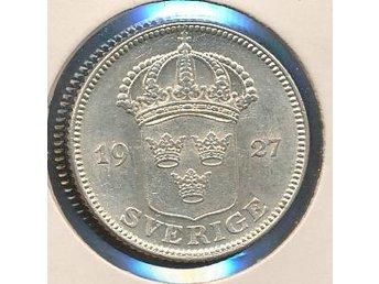 1927 50 öre Gustaf V se bild - Västra Frölunda - 1927 50 öre Gustaf V se bild - Västra Frölunda