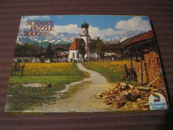 2000 bitars pussel över Bayerska Alperna - Huddinge - 2000 bitars pussel över Bayerska Alperna - Huddinge