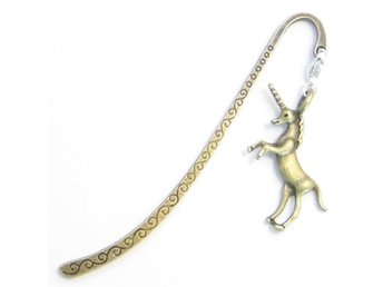 Enhörning bokmärke / Unicorn bookmark