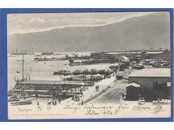 Chile. Iquigue Harbour 1907