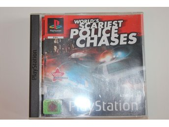 WORLD'S SCARIEST POLICE CHASES - Playstation 1 / PS1 spel