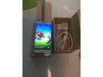 Samsung Galaxy S4 Vit Olåst - Eskilstuna - Samsung Galaxy S4 Vit Olåst - Eskilstuna