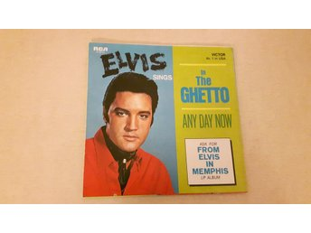 Elvis Presley - In The Ghetto (Endast Omslag)