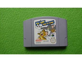 Tom and Jerry Fists of Furry N64 Nintendo 64