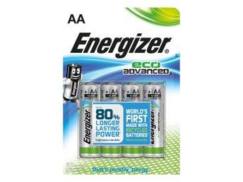 Javascript är inaktiverat. - Nossebro - Energizer Eco Advanced batterier är världens första AA-batteri tillverkat av 4 % återvunna batterier. Vårt mest varaktiga alkaliska batteri är ett steg till på vägen mot både prestanda och ansvar. Perfekt för enheter som drar mycket e - Nossebro