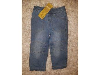 Javascript är inaktiverat. - Tärnaby,  Sverige - NYA, snygga! Fodrade jeans stl.92 ljusblå. ECO collection!!! - Tärnaby,  Sverige