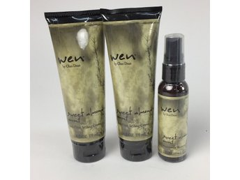 Wen by Chaz Dean, Hårprodukter, Sweet Almond Mint, Anti-Frizz/Replenishing