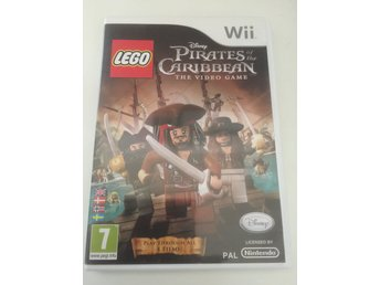 Lego Pirates of the Caribbean The video Game. Svensksåld