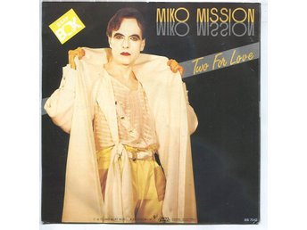 "Miko Mission -Two for love (2 vers) 7"" Beat Box Sweden 1985"