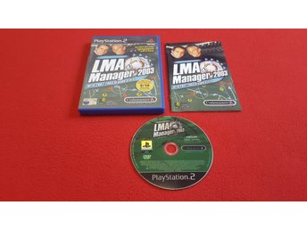 LMA MANAGER 2003 till Sony Playstation 2 PS2