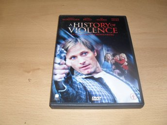 Dvd-film: A history of violence (Viggo Mortensen, Maria Bello, Ed Harris)