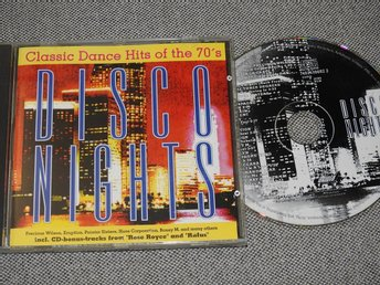 Disco Nights CD (Pointer Sisters,Boney M,Baccara,Amanda Lear,Rose Royce)
