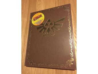Ny och inplastad Legend of Zelda Twilight Princess Collectors edition Guide
