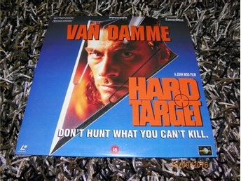 Hard Target - Widescreen edition - 1st Laserdisc OBS PAL
