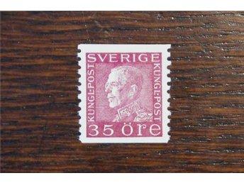 F 187 c**.Gustaf V profil vänster.35 öre violettkarmin. Kv400:- - Göteborg - F 187 c**.Gustaf V profil vänster.35 öre violettkarmin. Kv400:- - Göteborg
