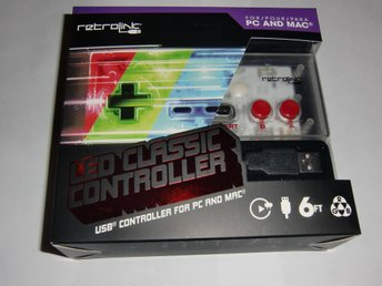 USB Handkontroll till PC & Mac Led classic