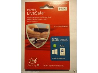 McAfee LiveSafe Ultimate Protection