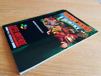 Donkey Kong Country SCN manual i superskick, Super Nintendo SNES