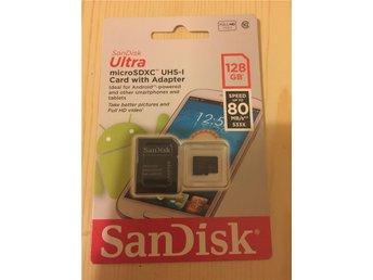 SanDisk Mobile Ultra microSDXC 128GB UHS-I 80MB/s - Stockholm - SanDisk Mobile Ultra microSDXC 128GB UHS-I 80MB/s - Stockholm