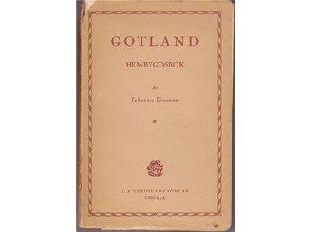 Gotland. Hembygdsbok. Bok av Johannes Linnman. - Solna - Gotland. Hembygdsbok. Bok av Johannes Linnman. - Solna