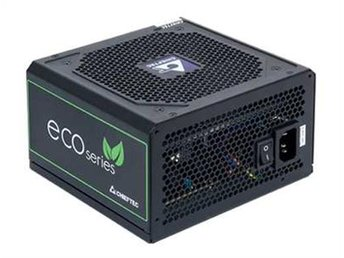Chieftec Eco-Series 500W ATX-12V 2.3PSU 12 cm fan, Active PFC 85%