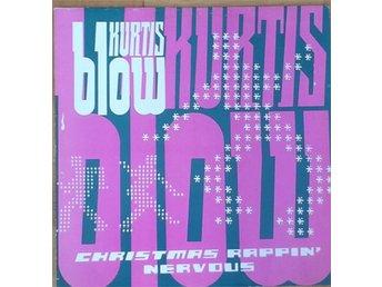 """Kurtis Blow * Christmas Rappin' / Nervous Electronic Funk, Hip-Hop UK 12"""" - Hägersten - Kurtis Blow * Christmas Rappin' / Nervous Electronic Funk, Hip-Hop UK 12"""" - Hägersten"""
